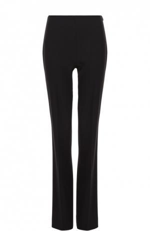 Шерстяные расклешенные брюки со стрелками Ralph Lauren. Цвет: черный