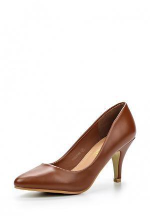 Туфли Retro Shoes. Цвет: коричневый