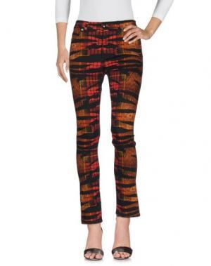 Джинсовые брюки McQ Alexander McQueen. Цвет: коричневый