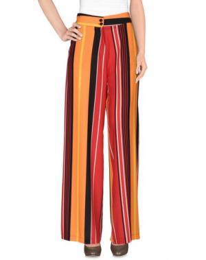 Повседневные брюки NORA BARTH. Цвет: оранжевый