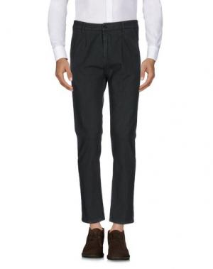 Повседневные брюки ONE SEVEN TWO. Цвет: темно-зеленый