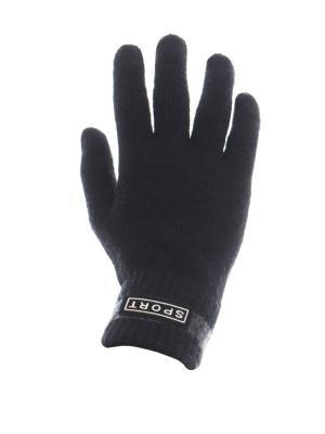 Перчатки мужские Cascatto. Цвет: черный