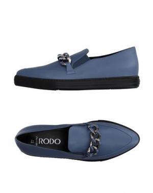 Низкие кеды и кроссовки RODO. Цвет: грифельно-синий