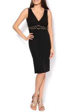 Платье джерси Clips. Цвет: черный