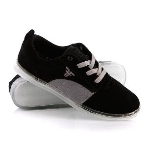 Кеды кроссовки низкие  Derby Black/Cement Grey Fallen. Цвет: черный