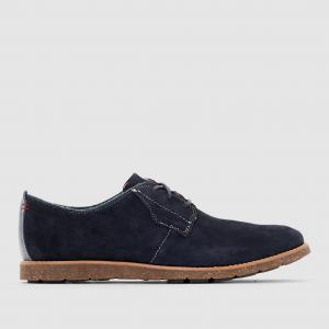 Ботинки-дерби кожаные  HANS HUSH PUPPIES. Цвет: темно-синий