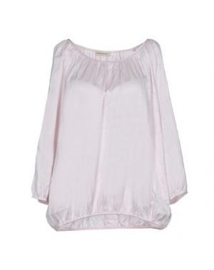 Блузка REPEAT. Цвет: светло-розовый