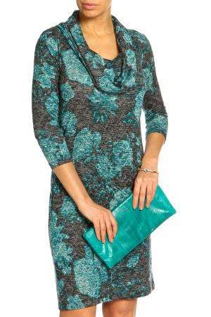 Платье Marks & Spencer. Цвет: сине-зеленый микс