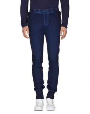 Повседневные брюки SLY010. Цвет: темно-синий