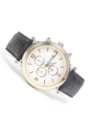 Часы наручные Adriatica. Цвет: желтый, белый, стальной