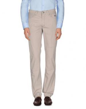 Повседневные брюки CARLO CHIONNA. Цвет: бежевый
