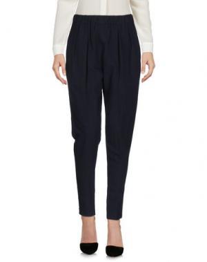 Повседневные брюки 08 SIRCUS. Цвет: темно-синий