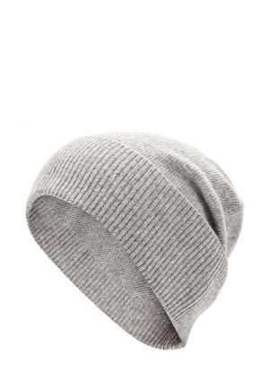 Шапка Lacoste. Цвет: серый