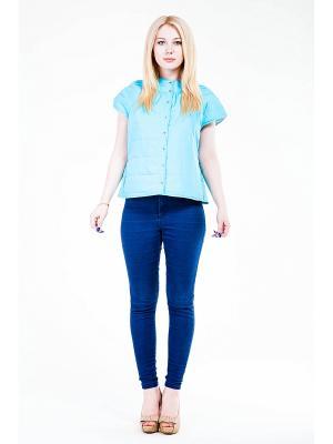 Жакет Glam Goddess. Цвет: голубой