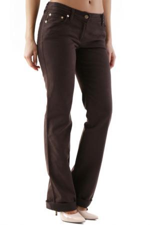 Pants HUSKY. Цвет: dark brown