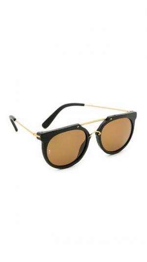 Солнцезащитные очки Stateline с кожаной отделкой Wonderland