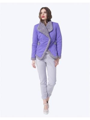 Куртка LO. Цвет: сиреневый