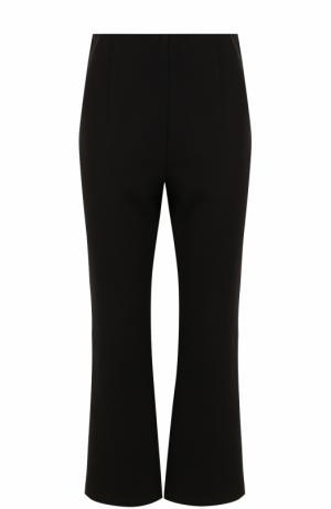 Укороченные расклешенные брюки DKNY. Цвет: черный