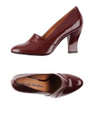 Туфли STEPHANE KÉLIAN. Цвет: красно-коричневый