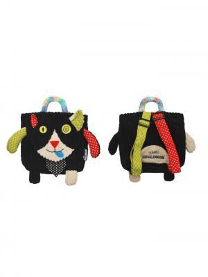 Игрушка Deglingos Котик Charlos - рюкзачок. Цвет: черный