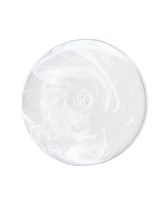 Mine white тарелка d 200mm Kosta Boda. Цвет: белый