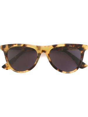Солнцезащитные очки Man Sol Leone Retrosuperfuture. Цвет: коричневый