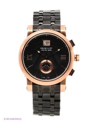 Часы HAAS & Cie. Цвет: бронзовый, черный