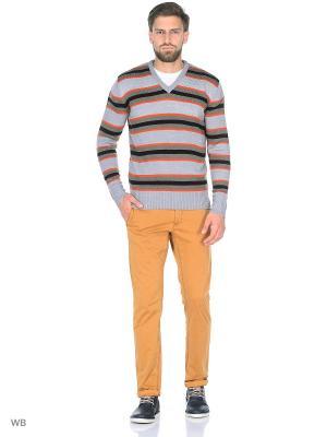 Пуловер Dorothy's Home. Цвет: черный, бежевый, оранжевый