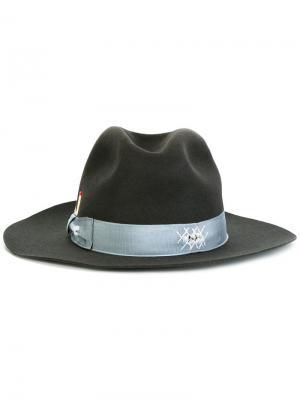 Шляпа Beaver Borsalino. Цвет: серый