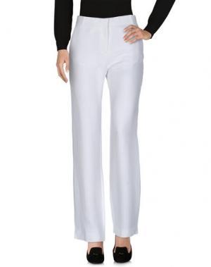 Повседневные брюки CÉLINE. Цвет: белый