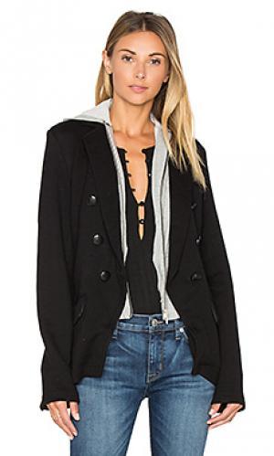 Куртка со скрытой молнией и капюшоном 525 america. Цвет: черный