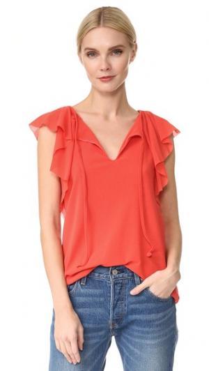 Блуза с короткими рукавами Fuzzi. Цвет: arancione