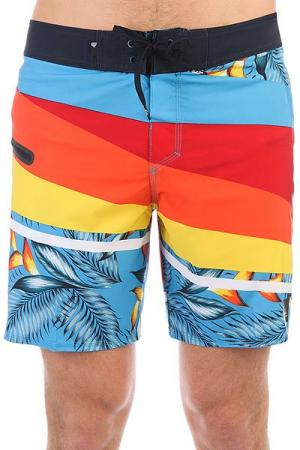 Шорты пляжные  Slashprintsve18 Chili Pepper Quiksilver. Цвет: мультиколор