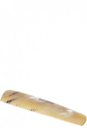 Расчёска для волос с мелким и крупным гребнем / Рог, 19 мм Truefitt&Hill. Цвет: бесцветный