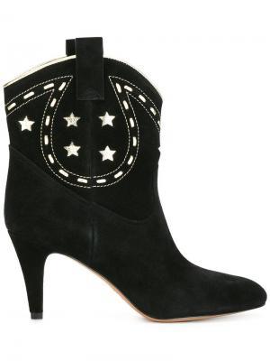 Ковбойские ботинки Georgia Marc Jacobs. Цвет: чёрный
