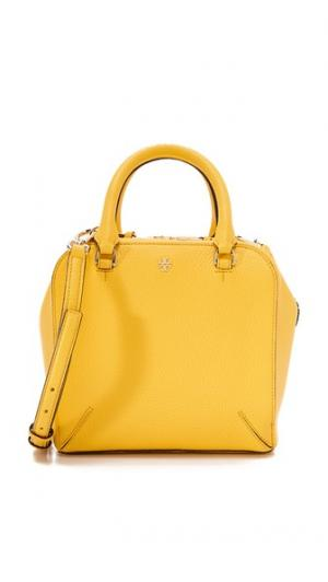 Миниатюрная сумка-портфель Robinson из шагреневой кожи Tory Burch