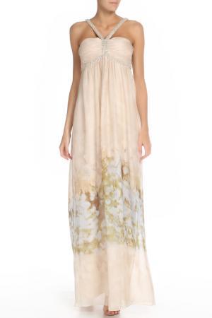 Платье Groupe JS. Цвет: шампань