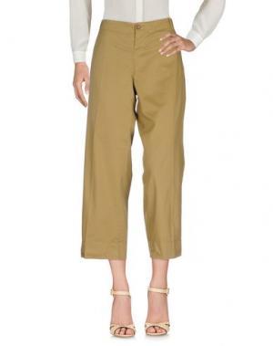 Повседневные брюки ZHELDA. Цвет: верблюжий