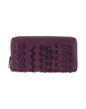 Бумажник GABS. Цвет: фиолетовый