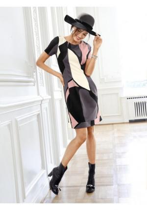 Платье Rick Cardona. Цвет: с рисунком