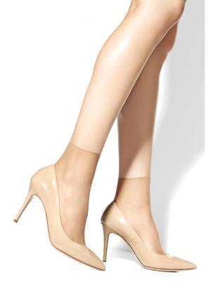 Носки MARILYN. Цвет: светло-коричневый