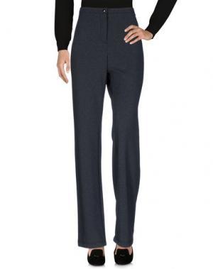 Повседневные брюки SEVERI DARLING. Цвет: свинцово-серый