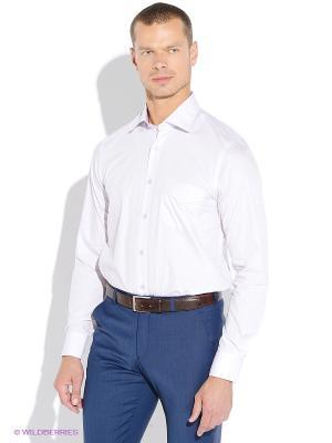 Рубашка MONDIGO. Цвет: бледно-розовый, белый