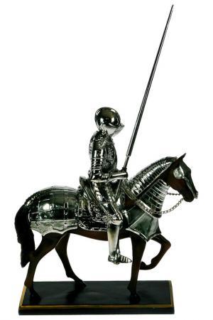 Статуэтка Рыцарь Русские подарки. Цвет: черный