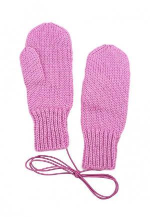 Варежки Knitted Kiss. Цвет: розовый