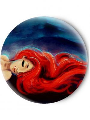Зеркальце Tina Bolotina. Цвет: темно-синий, красный