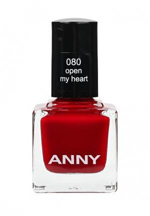 Лак для ногтей Anny. Цвет: бордовый