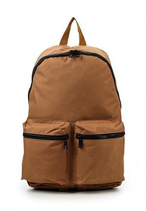 Рюкзак Topman. Цвет: коричневый