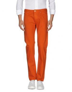 Джинсовые брюки C.P. COMPANY. Цвет: оранжевый