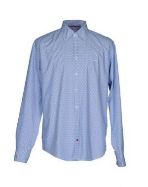 Pубашка ERA. Цвет: синий